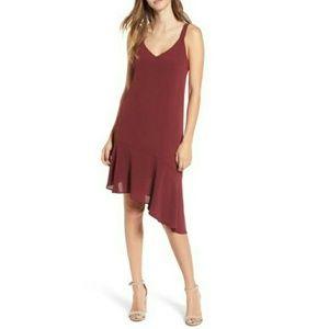 Burgundy Lush dress